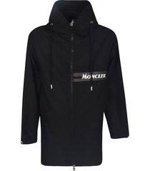 moncler hooded zip coat