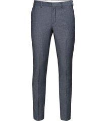 slhslim-mylobill lt blue strc trs b noos kostuumbroek formele broek blauw selected homme