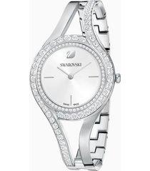 orologio eternal, bracciale di metallo, bianco, acciaio inossidabile