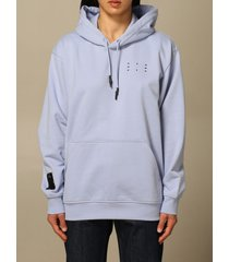 mcq alexander mcqueen mcq sweatshirt relaxed hoodie ic-0 by mcq in cotton with logo