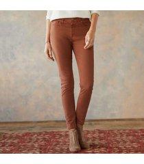 sundance catalog women's farrah ankle skinny jeans in pale smoke 30