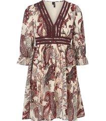 klänning vmisabella 3/4 emb dress