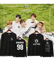 kpop astro summer vibes sweater unisex eunwoo hoodie sweatershirt jinjin moonbin