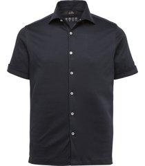 vanguard vsis212231 5073 short sleeve shirt mercerized soft jersey blue