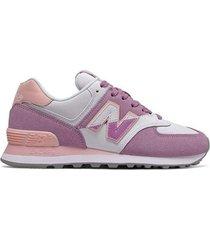 tenis - lifestyle - new balance - violeta - ref : wl574nhc