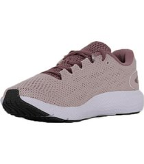 zapatilla rosa  under armour charged pursuit 2