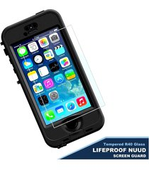 tempered glass screen protector for lifeproof nuud case-iphone 6s