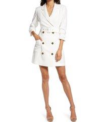 women's adelyn rae kayle jacket dress, size medium - white