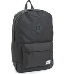 herschel supply co. 'heritage' backpack in black/black at nordstrom
