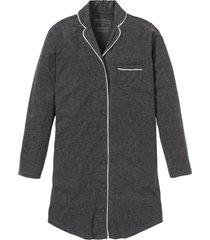 camicia da notte con bottoni (grigio) - bpc selection