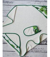 ręcznik niemowlęcy 85x85 cm jungle