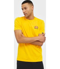 ellesse el canaletto tee-shirt t-shirts & linnen yellow