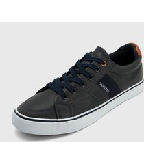 tenis azul navy-café hang ten