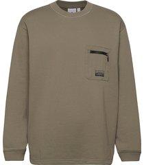 d sweatshirt sweat-shirt trui groen adidas originals