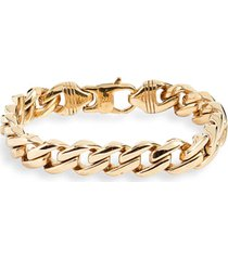 knotty curb chain bracelet in gold at nordstrom