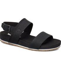 malibu waves 2 band sandal shoes summer shoes flat sandals svart timberland