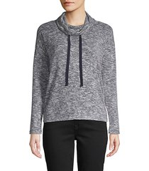 cowlneck pullover sweater