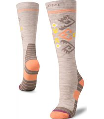 calcetin mujer all mountain ski socks gris lippi