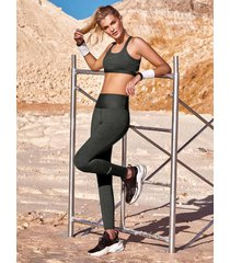 chamela 26869 - leggings deportivo en tela jacquard