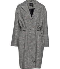 coat nora yllerock rock grå lindex