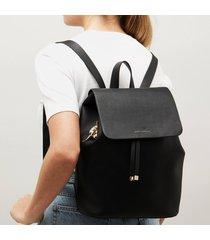 estella bartlett women's the copperfield drawstring backpack - black