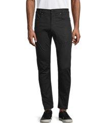 g-star raw men's multi-pocket pants - rinsed - size 32 36