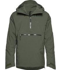 stranda ins hybrid anorak outerwear jackets anoraks groen bergans