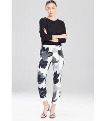 natori lotus slim pants, women's, size 4