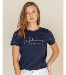 camiseta apliques metálicos
