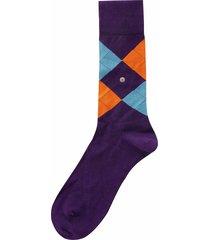 burlington socks manchester socks |purple| 20182-6988