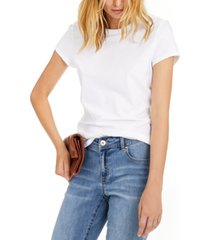 inc slim fit cotton crewneck top, created for macy's