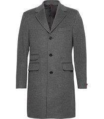 wesley wool cashmere coat wollen jas lange jas grijs morris