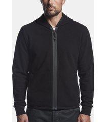y/osemite mesh lined zip-up hoodie
