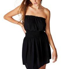 cotton on woven leslie strapless mini dress