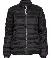 jacket gevoerd jack zwart replay
