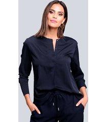 blouse alba moda marine