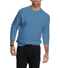men's swet tailor crewneck sweatshirt, size x-large - blue