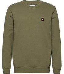 willis sweatshirt sweat-shirt tröja grön makia