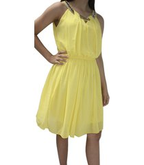 vestido it girls v1291 amarillo