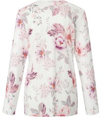pyjama bloemimpressies van fürstenberg beige