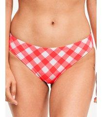 totally check bikini brief
