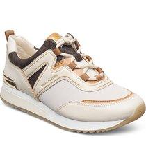 pippin trainer låga sneakers creme michael kors shoes
