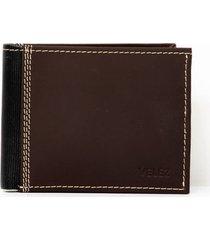 billetera vikintea de cuero para hombre