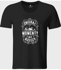 koszulka collect moments not things