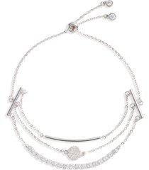 women's nordstrom three strand stack bracelet