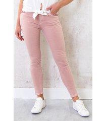 broek met pailletten roze