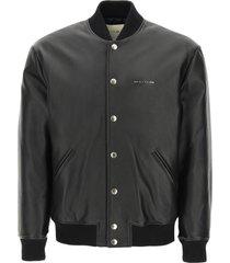1017 alyx 9sm leather bomber jacket