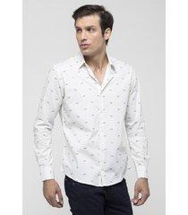 camisa blanco prototype legno