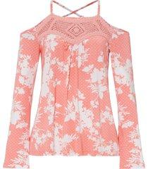 maglia con cut-out (rosa) - bodyflirt boutique