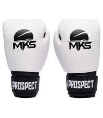 luva de boxe mks prospect branca